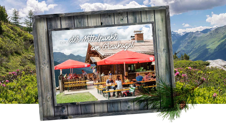 Ausflug auf die Graukogelalm in Bad Gastein